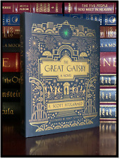 The Great Gatsby by F. Scott Fitzgerald New Illustrated 1925 Edition Hardback
