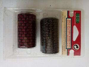 Lemax 2003 Set of 2 Brick and Pebble Roads-