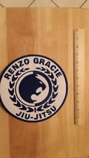 Renzo Gracie Jiu-Jitsu Large Embroidered Patch