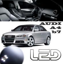 AUDI A4 B7 Kit 16 Lampadine a LED Bianco Luce interna Specchi Porte Cofano
