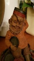 Rare - CHUBBY - Edition # 1 - Tom Clark Gnome - checkers - signed by Tom