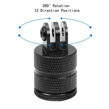360° Rotating Tripod Mount for GOPRO Hero Sports Camera Aluminium 12 Positions
