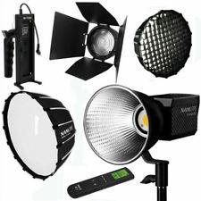 NANLITE Forza 60W Portable COB LED Studio Photography Light & Accessories Set