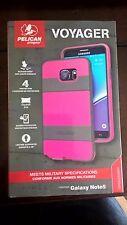 Pelican Progear Voyager Case Holster Samsung Galaxy Note 5  Pink / Gra