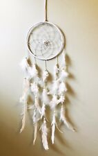 Dream Catcher grande plume blanche couleur Dreamcatcher Native American