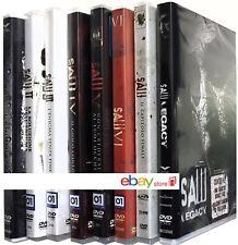 SAW - LA SAGA HORROR COMPLETA 8 FILM (8 DVD) INCLUSO SAW LEGACY
