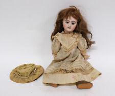 "Antique French Bisque Head Character Doll  ""SFBJ"" Paris"