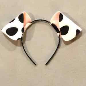 Dalmatian Ear Headband Puppy Dog theme birthday party favor costume dalmation