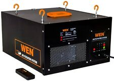 WEN Air Filtration System 3-Speed Remote-Controlled Removes Filter Dust Workshop