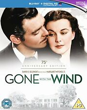 GONE WITH THE WIND (1939) 75TH ANNIVERSARY NEW 2 BLU RAY DISC BOXSET REGION B
