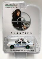 "Greenlight 2003 Ford Crown Victoria Police Interceptor ""Quantico"" 1/64 Chase Car"