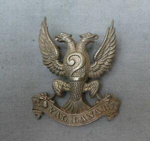 2nd Royal Lanark Glengarry badge