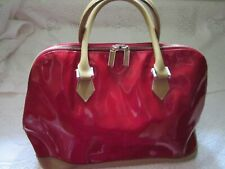 DESIGNER *SUZY SMITH*RED Faux Patent leather handbag* MOTHERS DAY**BIRTHDAY GIFT