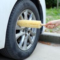 "17"" Inch Car Wheel Tire Rim Scrub Brush Washing Cleaner Vehicle Cleaning Tool"
