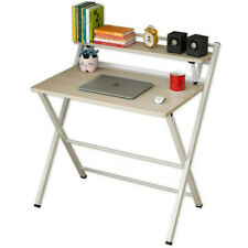 Schreibtisch klappbar platzsparender Bürotisch Ablage Home Office Jugendzimmer