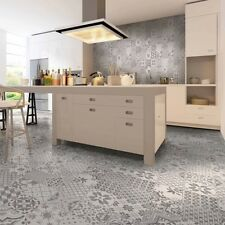 Victorian Style Grey Mosaic Effect Tiles 25.7 X 51.5