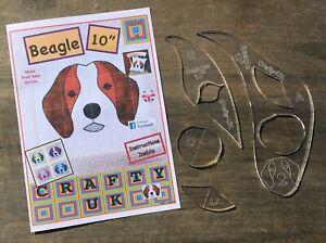 "Beagle 10"" Quilt Pattern Templates"