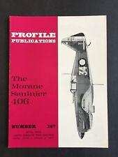 Profile Publications No. 147 Morane Saulnier 406