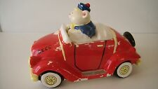 OLD RARE VINTAGE  AUTOMOBILE COOKIE JAR