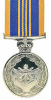 Replica Defence Long service Medal Australia Full Size With Ribbon Bar