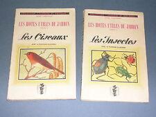 Jardin ornithologie entomologie Les hôtes utiles du jardin rené Thévenin 1944