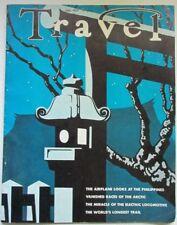 Historic TRAVEL Magazine July,1937:Airplanes,Arctic,Electric Locomotives,Trails