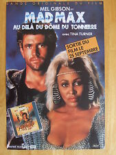 AFFICHE - MAD MAX - MEL GIBSON - TINA TURNER