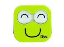 NEW iSee Lime Green Contact Lens Eye Care Kit