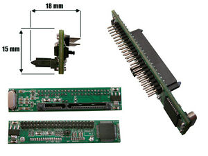 "Convertisseur Adaptateur SATA 15+7 Femelle vers IDE 2.5 "" 44 pins Mâle"