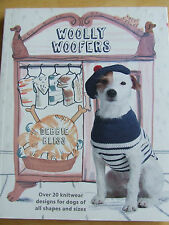 WOOLLY WOOFERS DEBBIE BLISS 20 KNITWEAR DESIGNS FOR DOGS OF ALL SHAPES SIZES