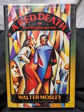 SIGNED by WALTER MOSLEY - Mosley A RED DEATH - 1st ed. (1991) - RARE in JACKET