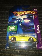 HOT WHEELS 2007 FORD GT 40 YELLOW SPORTS CAR RED LINE ERROR VARIATION CHASE