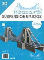 3D puzzle model of Bristol's Clifton Suspension Bridge