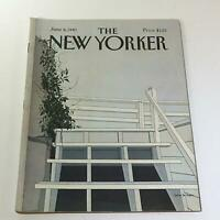 The New Yorker: June 8 1981 Full Magazine/Theme Cover Gretchen Dow Simpson