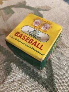 Vintage J DeBeer & Sons Official Babe Ruth League Baseball Ball In Box Antique
