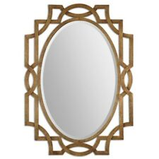 Uttermost 12869 Margutta Gold Oval Mirror
