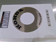 Honda ATC 70 Stickers Engine Recoil Warning starter Advice Vintage Trike Sticker