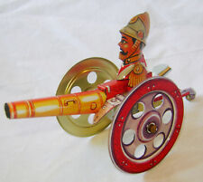 NEW THE CANNON VINTAGE STYLE REPLICA TIN TOY COLLECTOR ITEM HOM