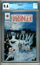 Harbinger #4 (1992) CGC 9.4  White Pages  Shooter - Lapham - Dixon  w/Coupon
