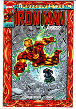 IRON MAN : LE RETOUR DES HEROS    : N°  9     MARVEL FRANCE