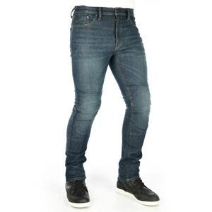Oxford Original Approved AAA Motorcycle Motorbike Jeans Slim Short Leg