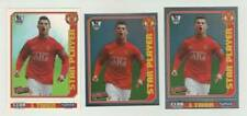 2008-09 Topps Total Football / Cristiano Ronaldo (Manchester United)/ 3 stickers