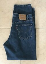 Levi's 550 Relaxed Fit Tapered Leg Men's Blue Jeans size 36 x 32 (35x32)