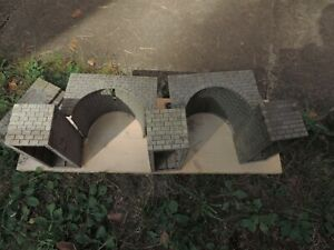 Modelleisenbahn spur G Brückenteile Aufbau Inviduel gestalten