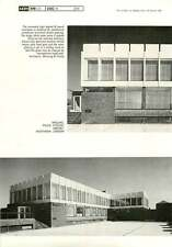 1966 Walling, Police Station, Airport, Heathrow, London Manning & Clamp