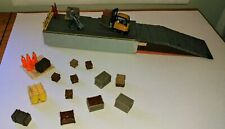 HO scale Transfer Warehouse Dock with Crates