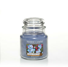 YANKEE CANDLE candela profumata giara media Garden Sweet Pea durata 90 ore
