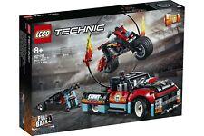 Lego 42106 Stunt-Show mit Truck und Motorrad Technic Neu