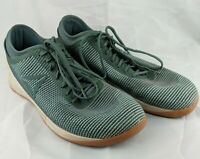 Reebok Crossfit Shoes Mens Size 13 Nano Green Flexweave Gum Soles Gym Training