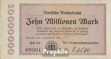 Deutsches Reich 1923 10 Millionen Inflationsgeld DR10 g